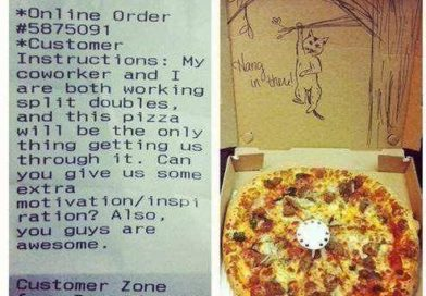 """Hilarious """"Special Instructions"""" Pizza Deliveries"""