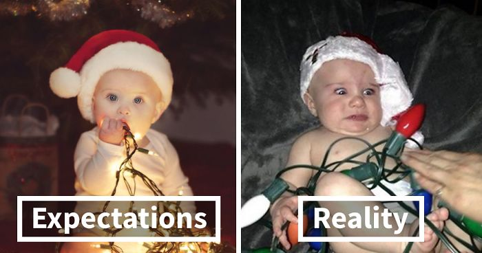 Expectation Vs. Reality: Christmas Edition