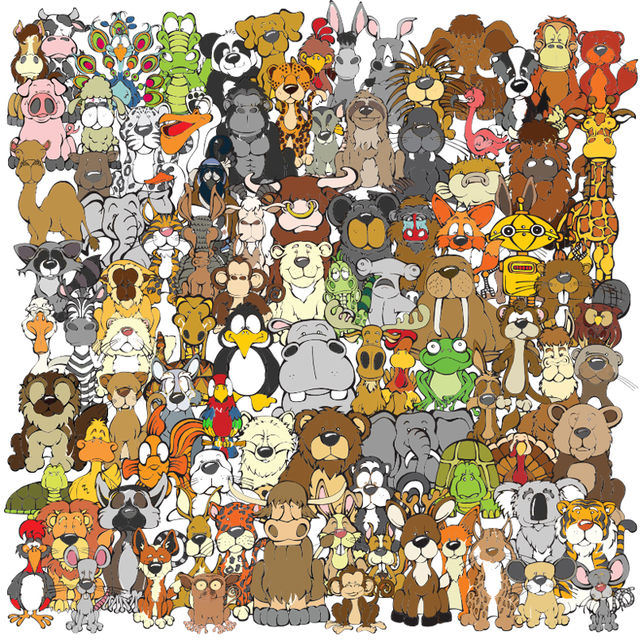 Can You Find 6 Hidden Animals?