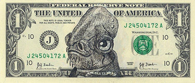 These Hilarious Currency Drawings Are So Money
