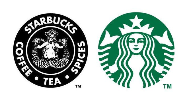 Famous Corporate Logos Then And Now