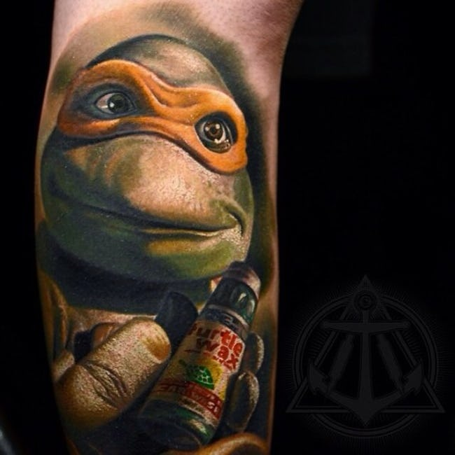 Tattoos, Inspired Mutant Ninja Turtles