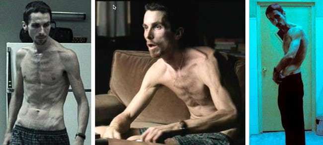 The Most Extreme Body Transformations Done for Movie Roles