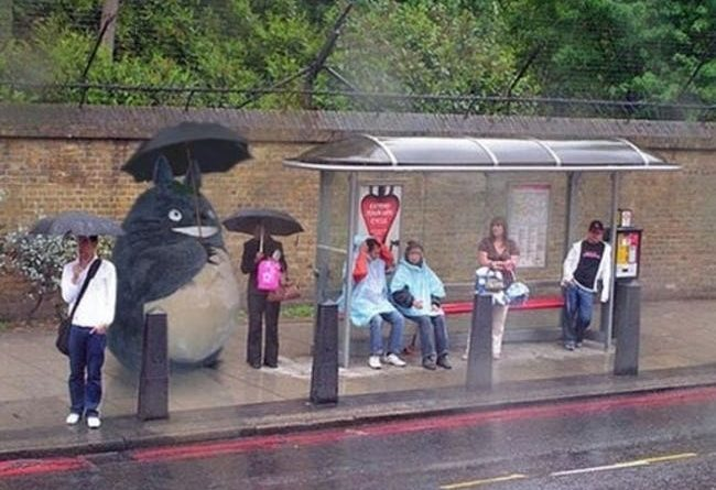 The Funniest Bus Stop Photos Ever