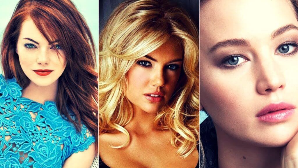 Beautiful Young Actresses Under 30