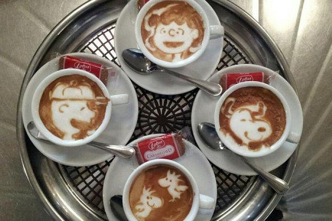 51 Works of Latte Art You'll Never Want to Drink Away