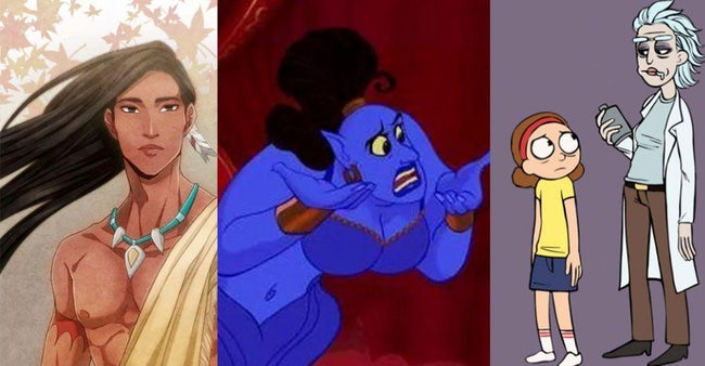 Genderbent Fan Art That Will Make You See Your Favorite Cartoon Characters In A Whole New Way