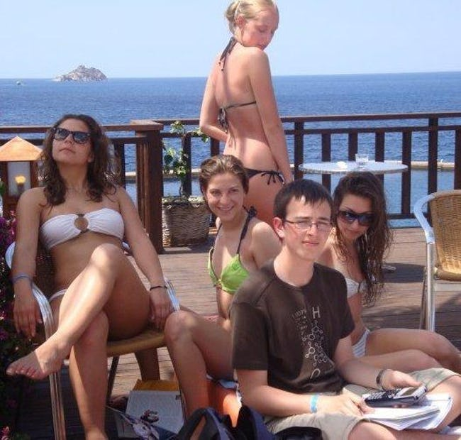 The 30 Most Awkward Pictures of Nerds Next to Women