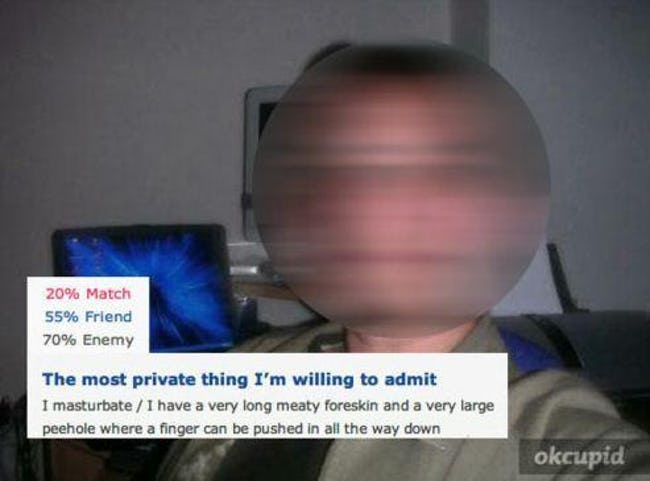 OK Cupid Profiles From Hell
