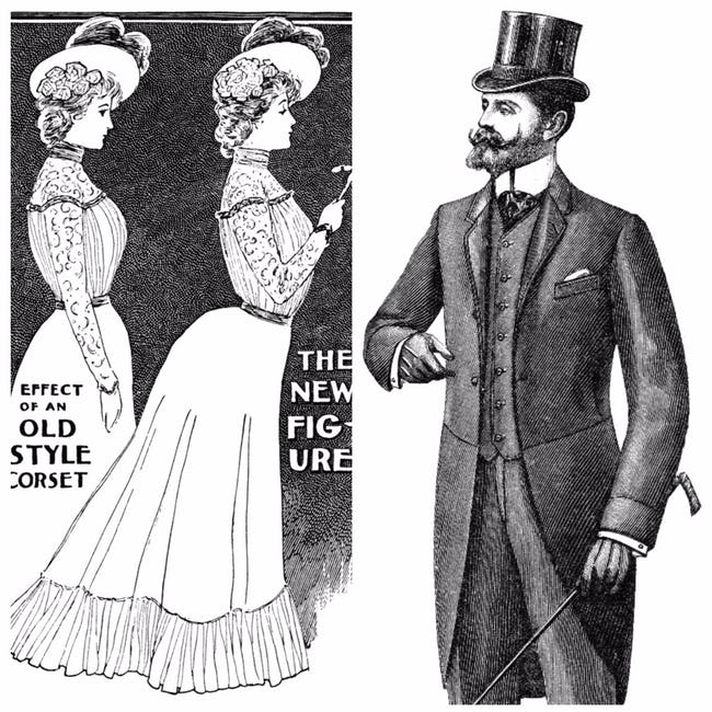 These Were The Ideal Beauty Standards For Men And Women Throughout The 20th Century