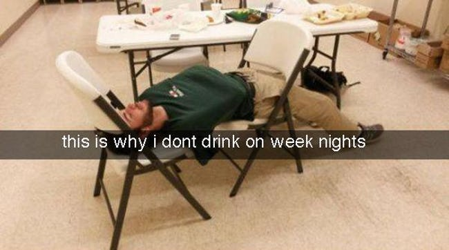 Hilarious Snapchats from the Morning After