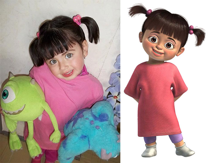 25 Cartoon Doppelgangers Spotted in Real Life