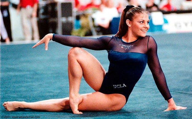 Hottest Female Gymnasts