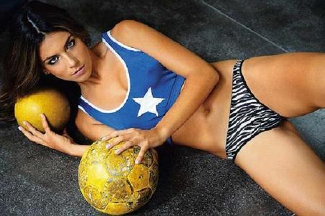 Sexiest Female Soccer Players