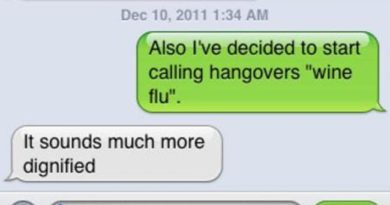 Hilarious Hangover Texts to Help You Get Over Yours