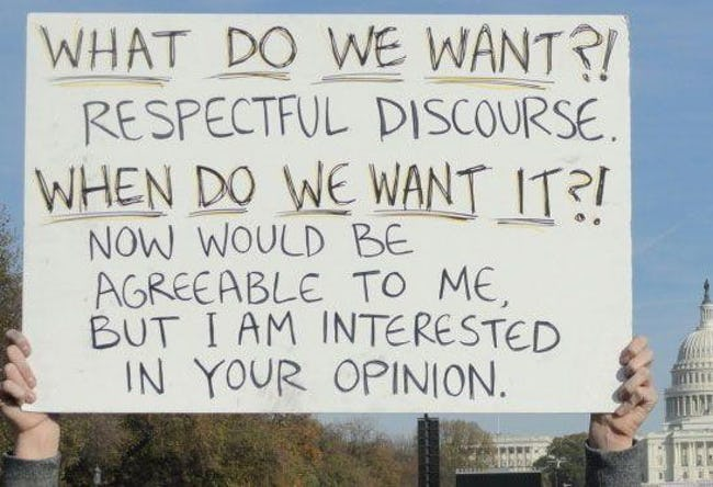 22 Silly Signs from Political Rallies