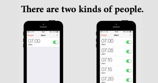 Photos That Prove There Are Two Types Of People In This World