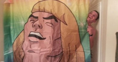 25 Very Clever Shower Curtains That Will Make You Smile