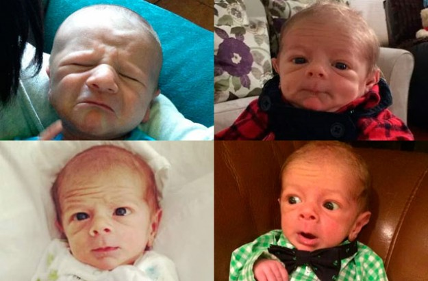 Babies Who Look Like Middle-Aged Men