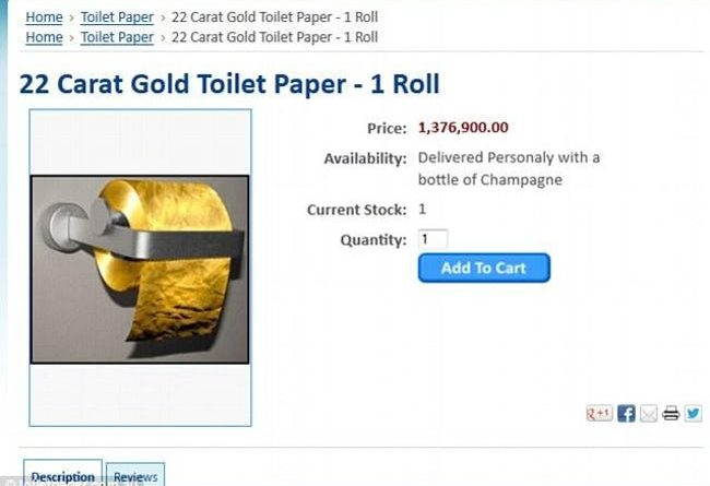 23 Everyday Things You Can Buy Made of Real Gold