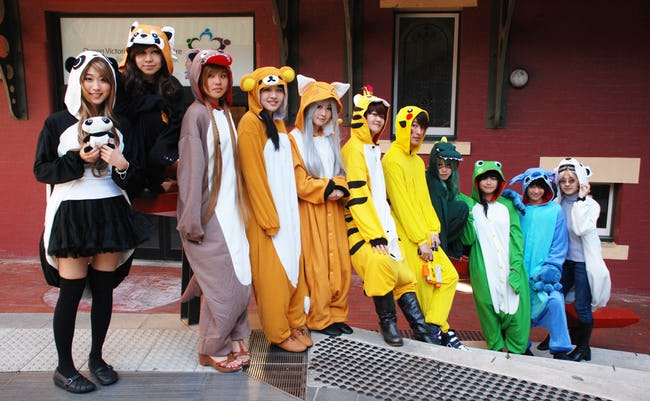 The Craziest Japanese Fashion Trends