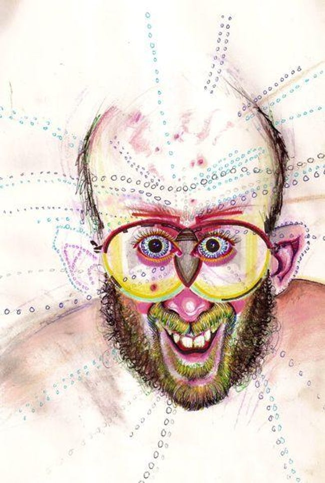 This Guy Painted Self-Portraits On 30 Different Drugs