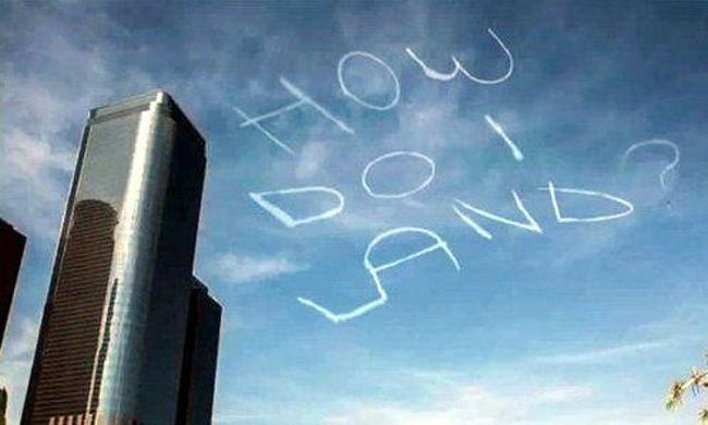 18 Of The Funniest Airplane Skywriting Ever To Take Flight