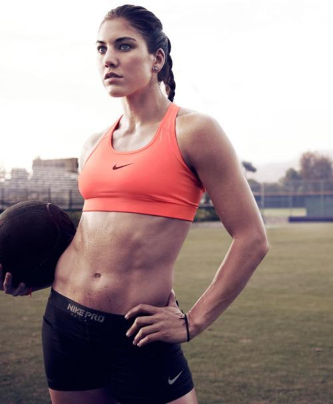 The Sexiest Female Soccer Players