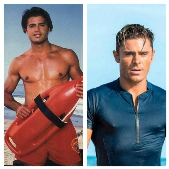 What The Original Cast Of Baywatch Looked Like Vs. The Stars Of The New Movie