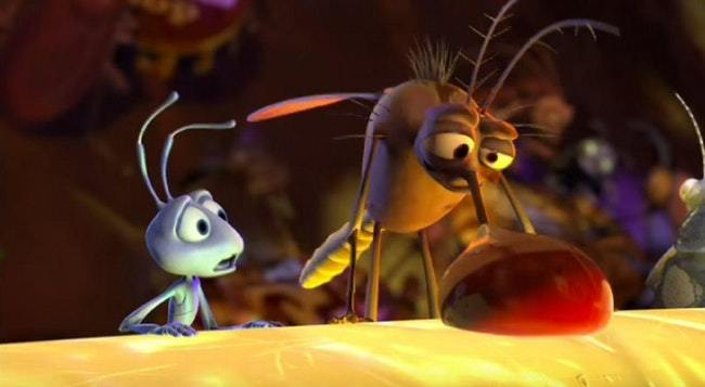Adult Moments You Never Noticed in A Bug's Life