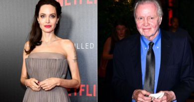 Angelina Jolie and Jon Voight