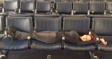 Funniest Photos Ever Taken At Airports