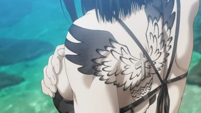 Anime Characters With Tattoos