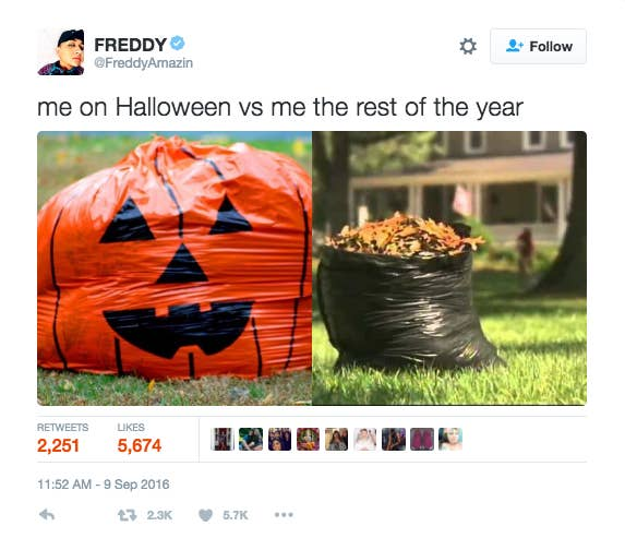 20 Of The Funniest Halloween Tweets Of All Time