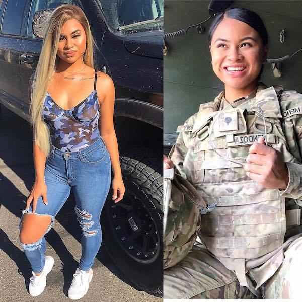 25 Lovely Ladies Who Look Great In and Out of Uniform