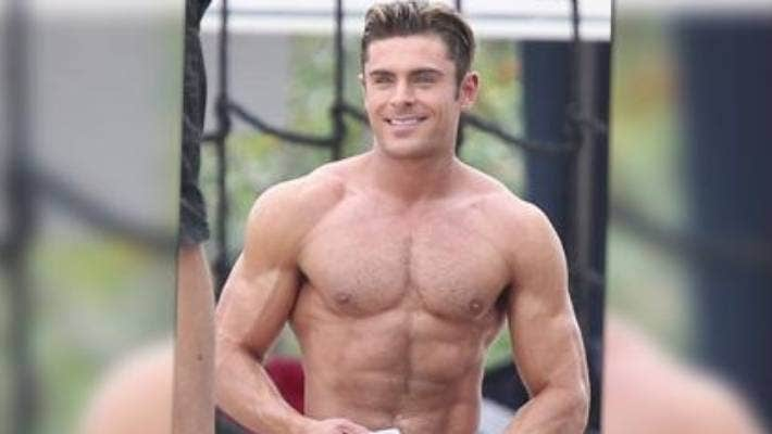 Male Celebrities with the Best Abs