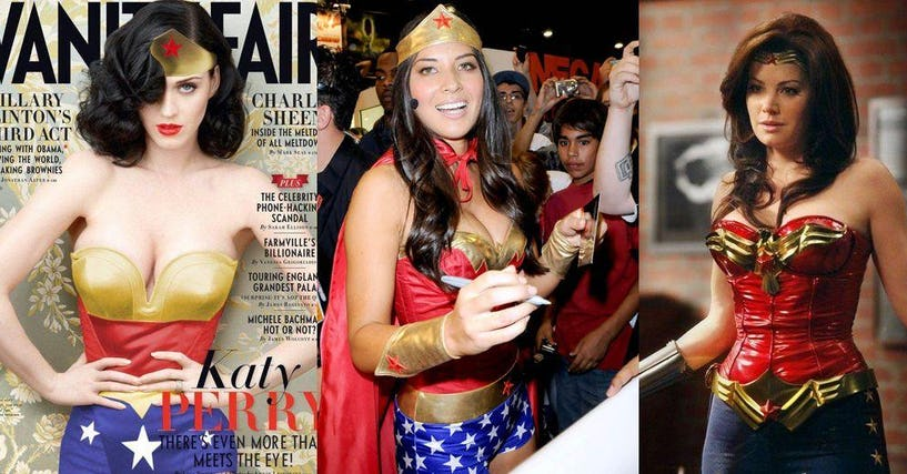 Celebrities Who Look Super Hot As Wonder Woman